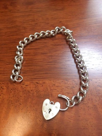画像2: Silver chane bracelet