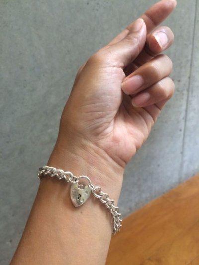画像3: Silver chane bracelet